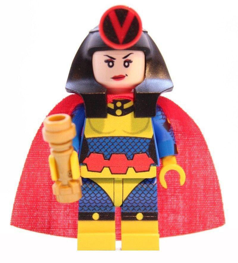 shazam DC Super Hero minifigure lego Custom PAD UV Printed BRICK  minifigure