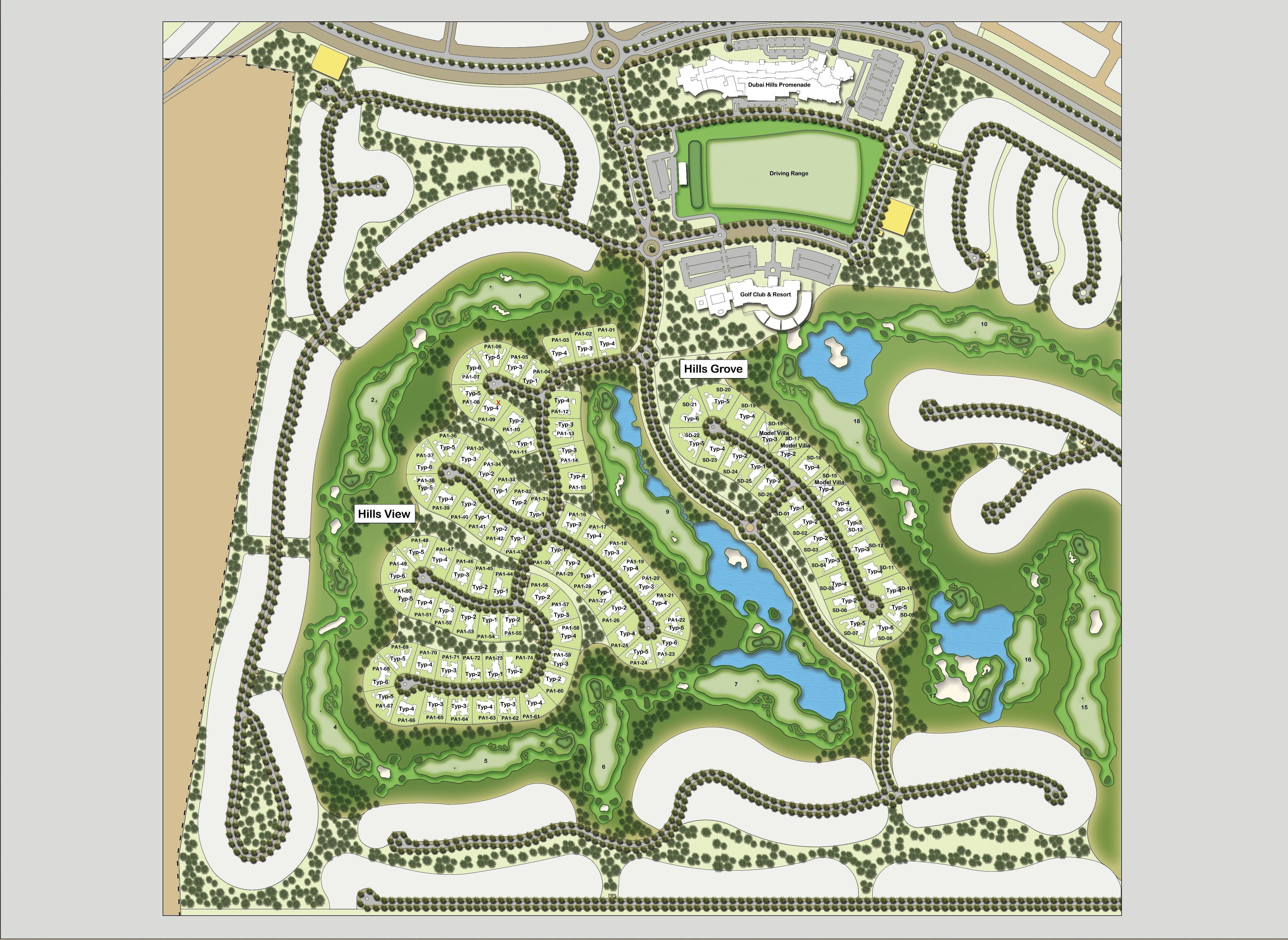 1e91f029c2cdd9d51fbedcde0a647ad0 - Golf Gardens Abu Dhabi Location Map