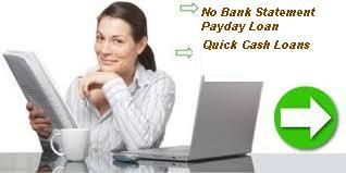 No bank statement payday loan is especially designed for the