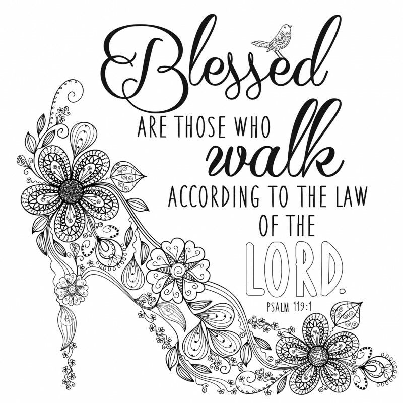 Blessed are those bible coloring pages bible coloring