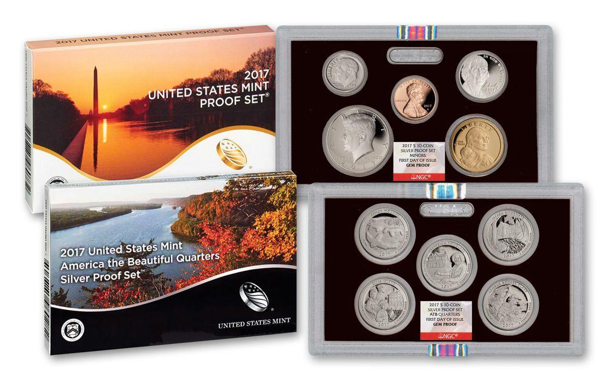 2016 s US Mint Silver Proof set Gem Uncirculated