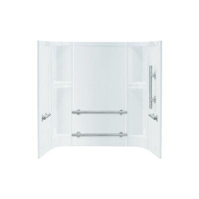 Sterling By Kohler Accord 3 Piece 30 X 60 X 55 25 Smooth Series