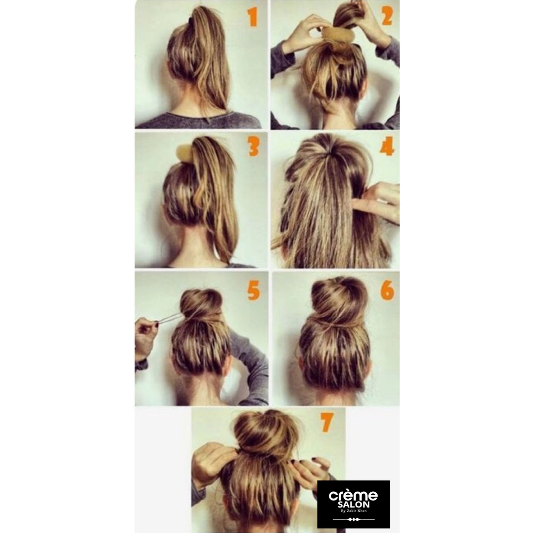 Having A Bad Hair Day Here S A Step By Step Tutorial On How To Rock That Perfect Messy Bun To College Work And Make H Hair Hacks Hair Bun Tutorial Hair Styles