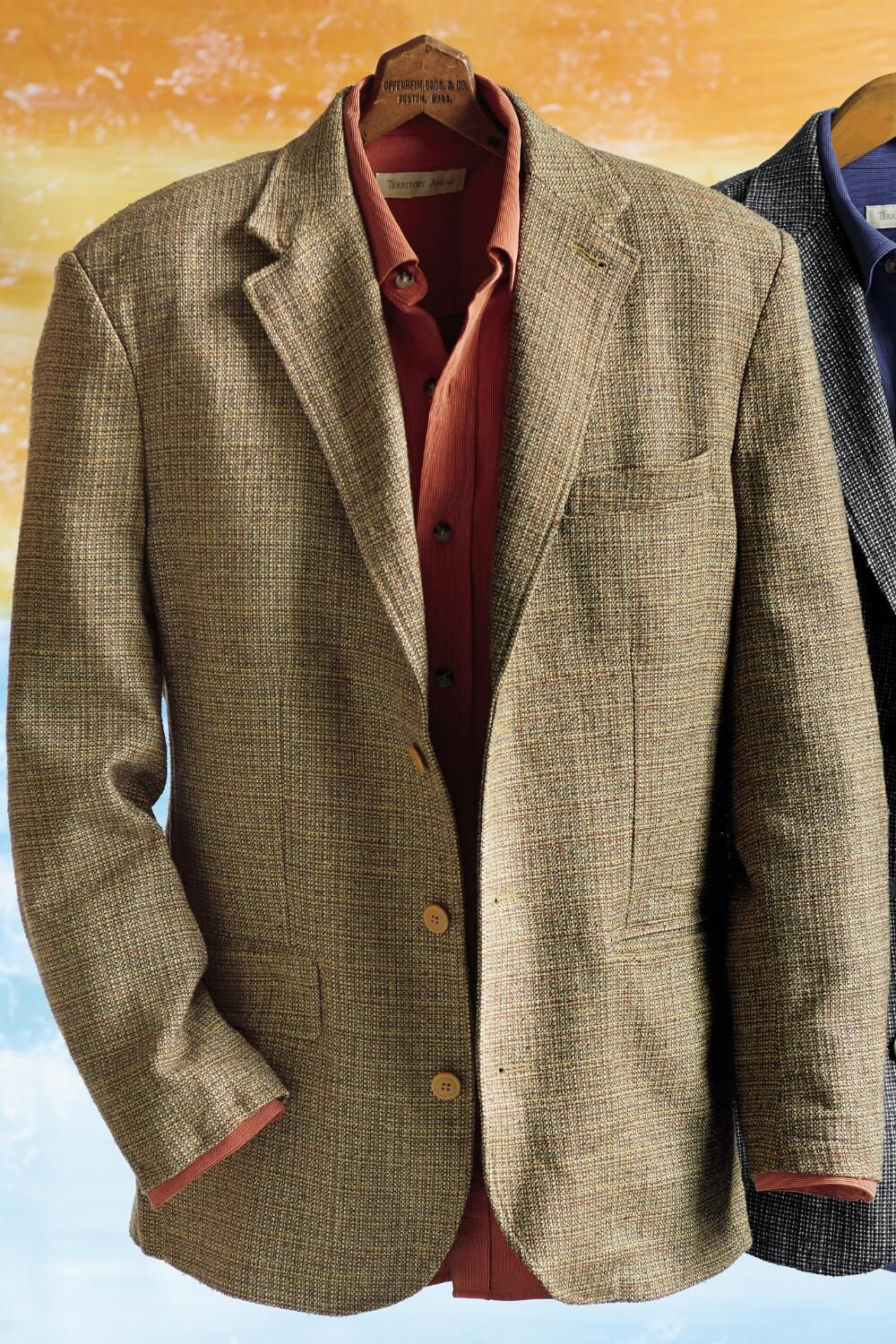 All Seasons Patterned Silk Sport Coat | Territory Ahead | I'd wear ...