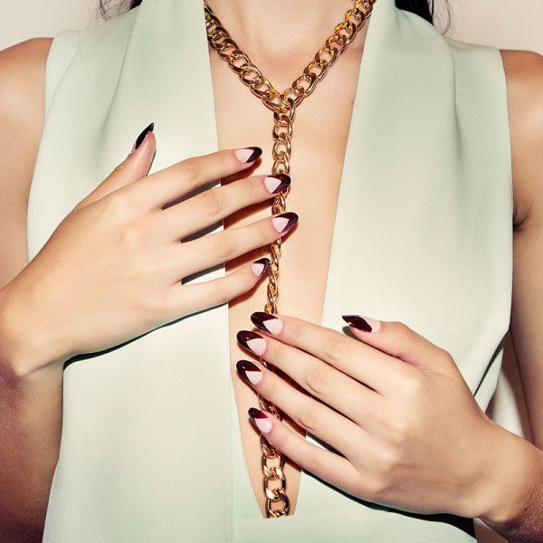 uñas francesas elegantes 2016 | jewelry | Pinterest | Uñas francesas ...