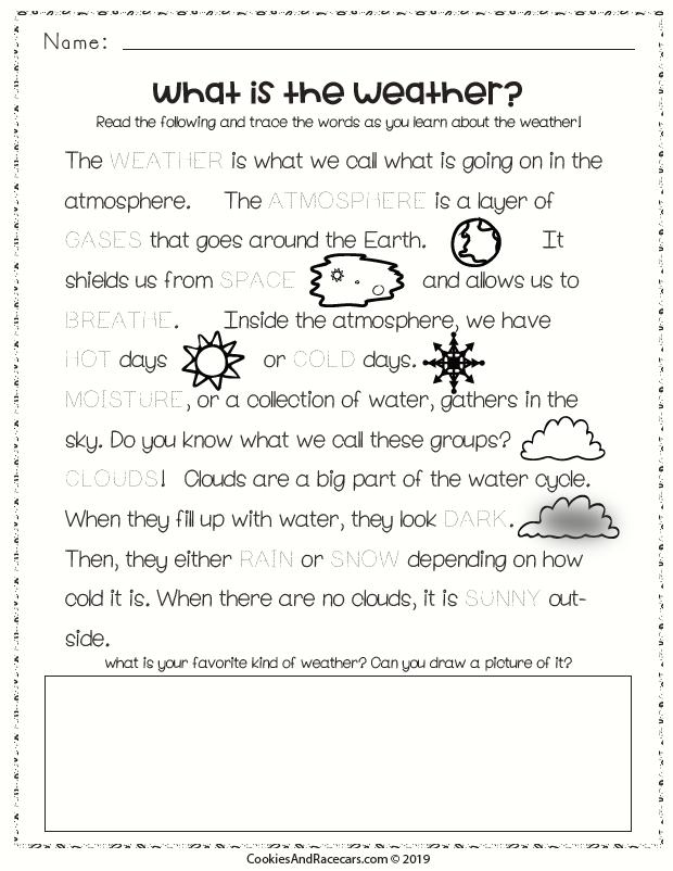 Weather Worksheet Pack Weather worksheets, Weather
