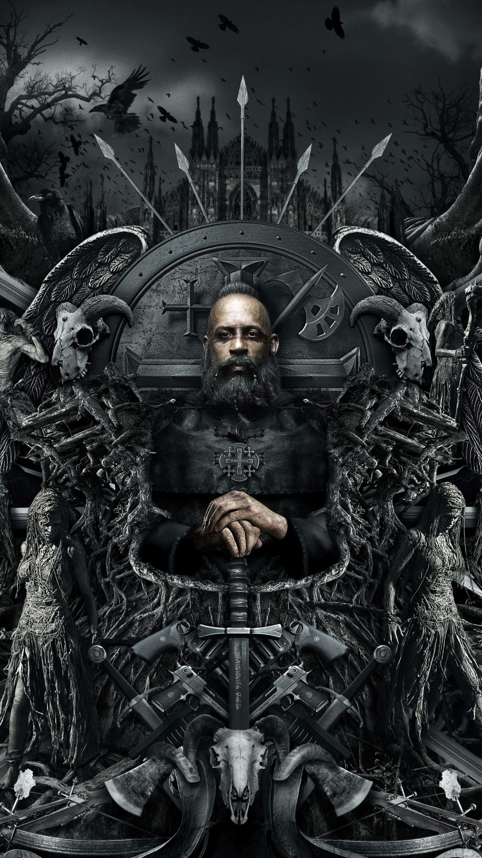 The Last Witch Hunter Mobile Hd Wallpaper Zombie Wallpaper 8k Wallpaper Joker Wallpapers