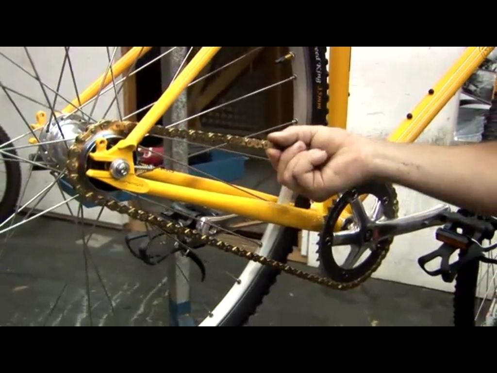 How To Tighten A Bike Chain Bike Chain Bike Household