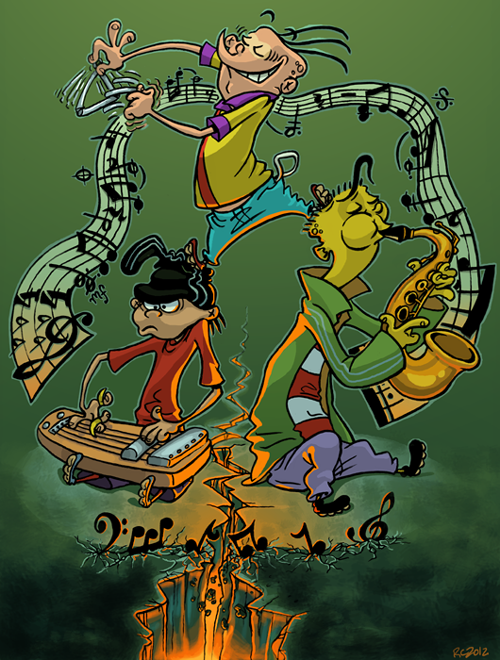 Ed edd n 39 eddy ed edd double d eddy fanart play - 90s cartoon wallpaper ...