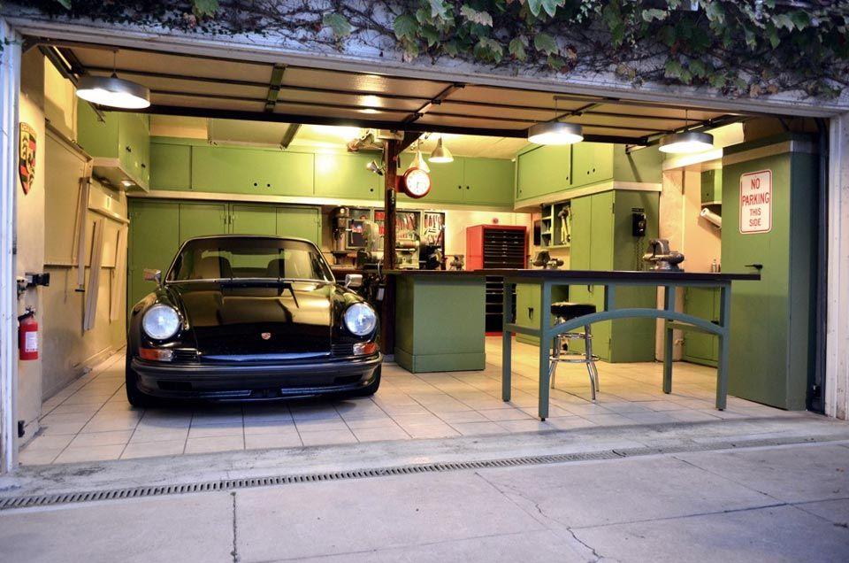 Jack Olsen S 12 Gauge Garage Garage Design Interior Garage Design Garage Lighting