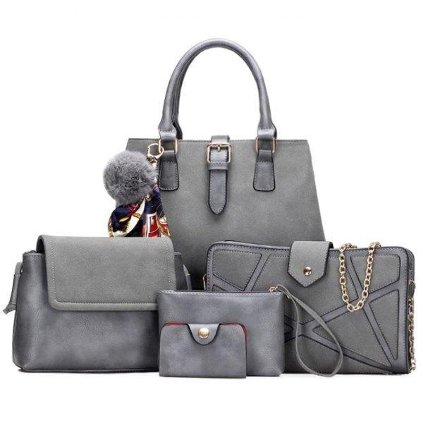 d6fe17ea3d RoseWholesale - Rosewholesale Scarf Handbag Set - AdoreWe.com ...