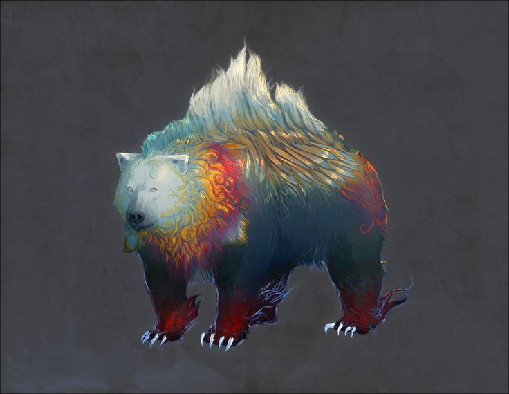 Okku - God of Bears, an ancient spirit of Rashemen
