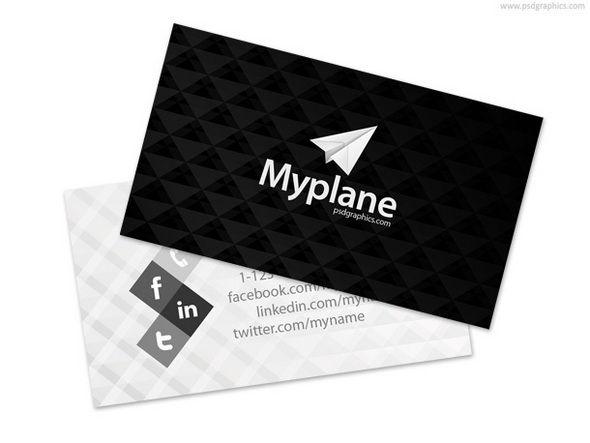 Free business card psd photoshop pinterest card templates free business card psd reheart Image collections