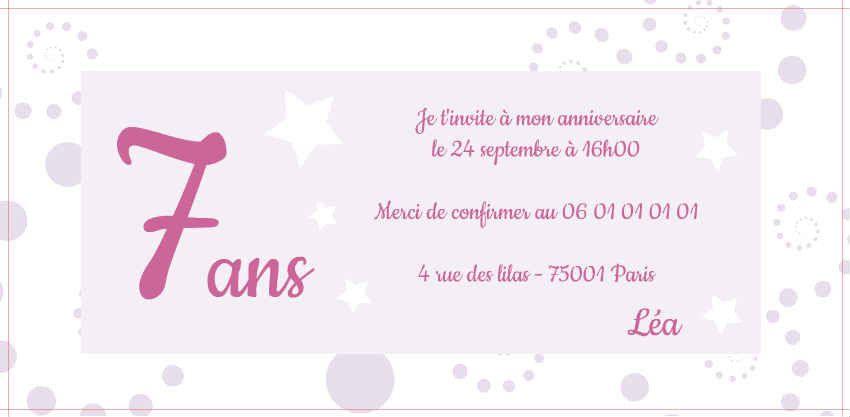 Carte D Anniversaire Pour Petite Fille De 5 Ans Lovely Exemple Modele Te Modele Carte Invitation Anniversaire Modele Carte Anniversaire Invitation Anniversaire