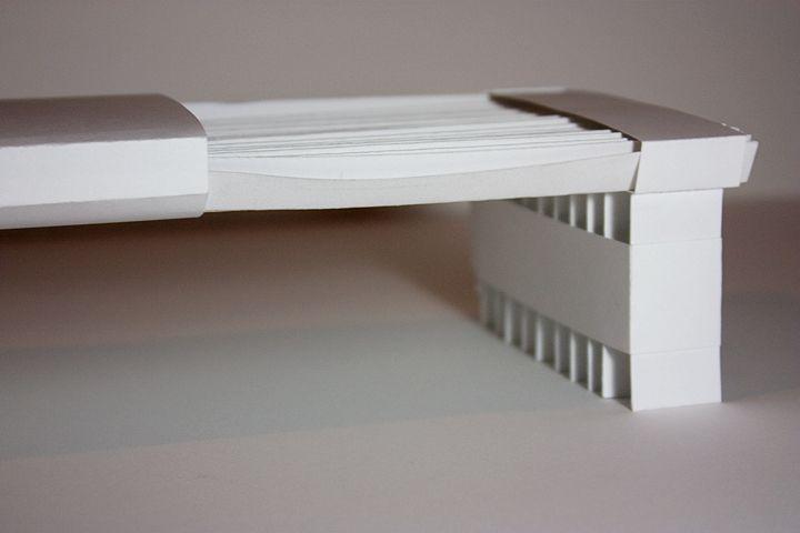 how to make a paper bridge