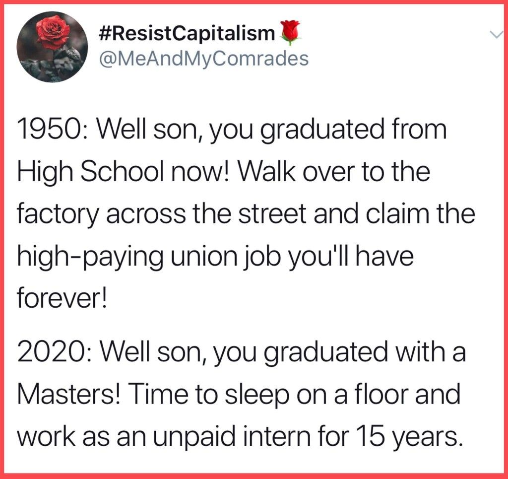 And Choke On A Lifetime Of Student Debt Revolution