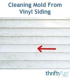Cleaning Mold From Vinyl Siding Vinyl Siding Cleaning Mold Cleaning Vinyl Siding