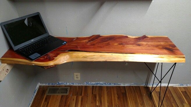 Cedar Desk top simple & timeless..