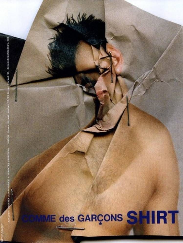 "Stephen J Shanabrook – ""Paper Surgeries"" for Comme des Garçons Shirt"
