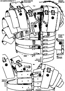 template for roman armour drawing design google search cosplay