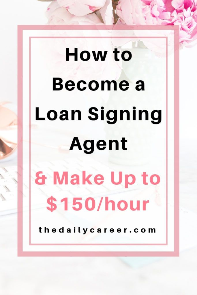 Make Up To $150 per hour As A Loan Signing Agent -
