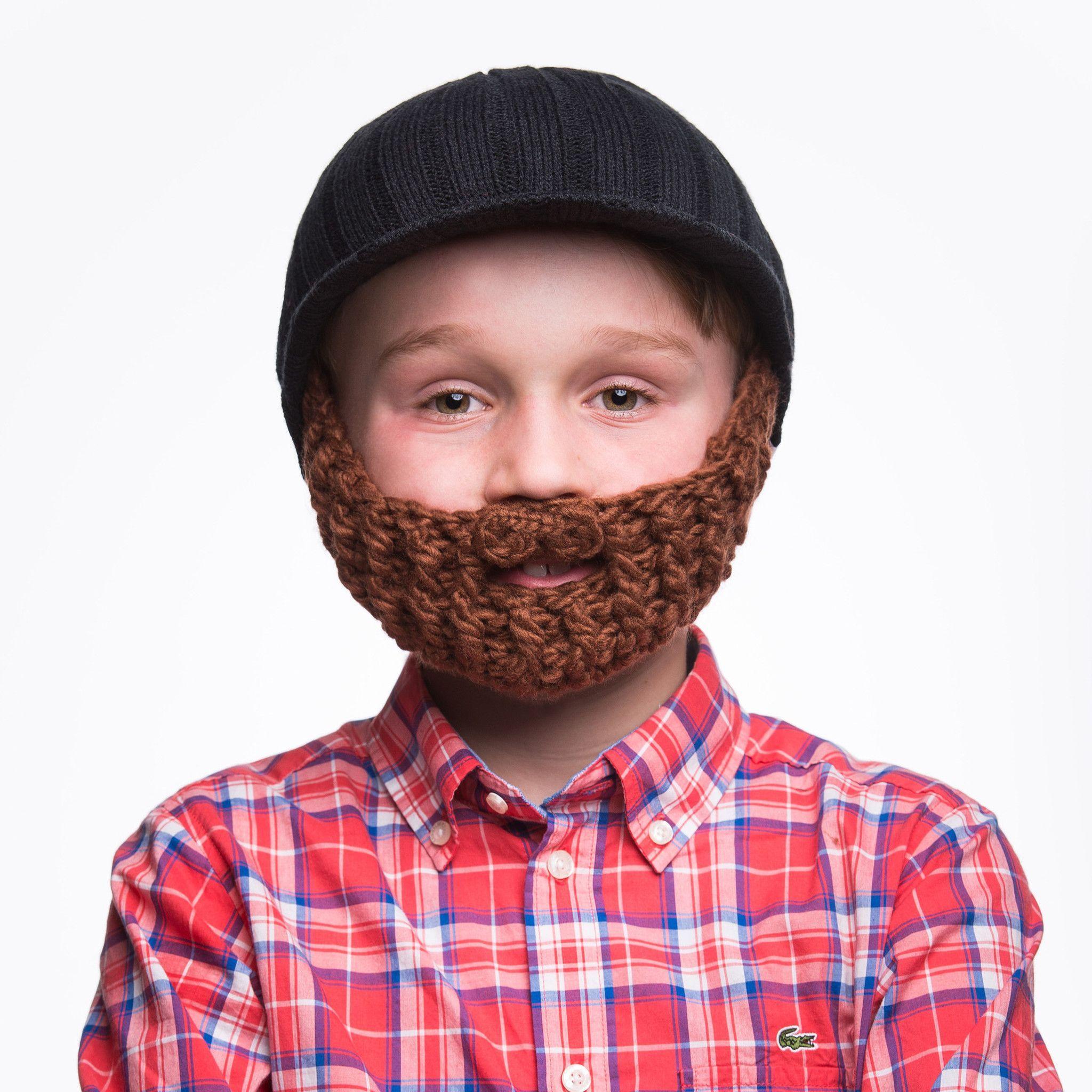 776dba45004 KIDS Beardo Beard Hats