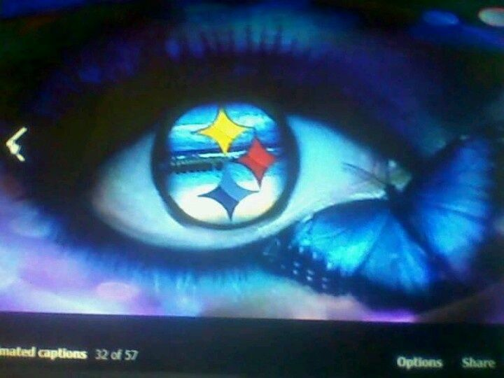 photos of pittsburgh steelers eyes | Via Mz McGuire