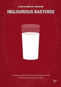 Digital Art - No138 My Inglourious Basterds Minimal Movie Poster by Chungkong Art