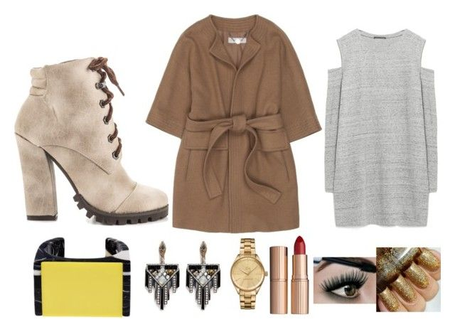 """""""Row"""" by puppydog28 ❤ liked on Polyvore featuring STELLA McCARTNEY, Michael Antonio, Zara, Lulu Frost, Lacoste and Charlotte Tilbury"""