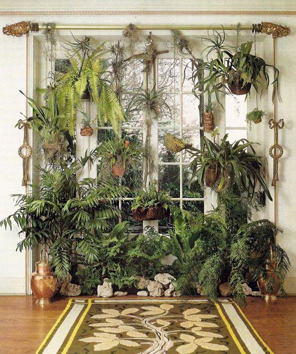 17 Ideas Para Decorar Tu Sala De Estar Con Plantas En Esta Primavera Decoesfera Decoracion E Interiorismo Plants Indoor Plants Indoor Garden