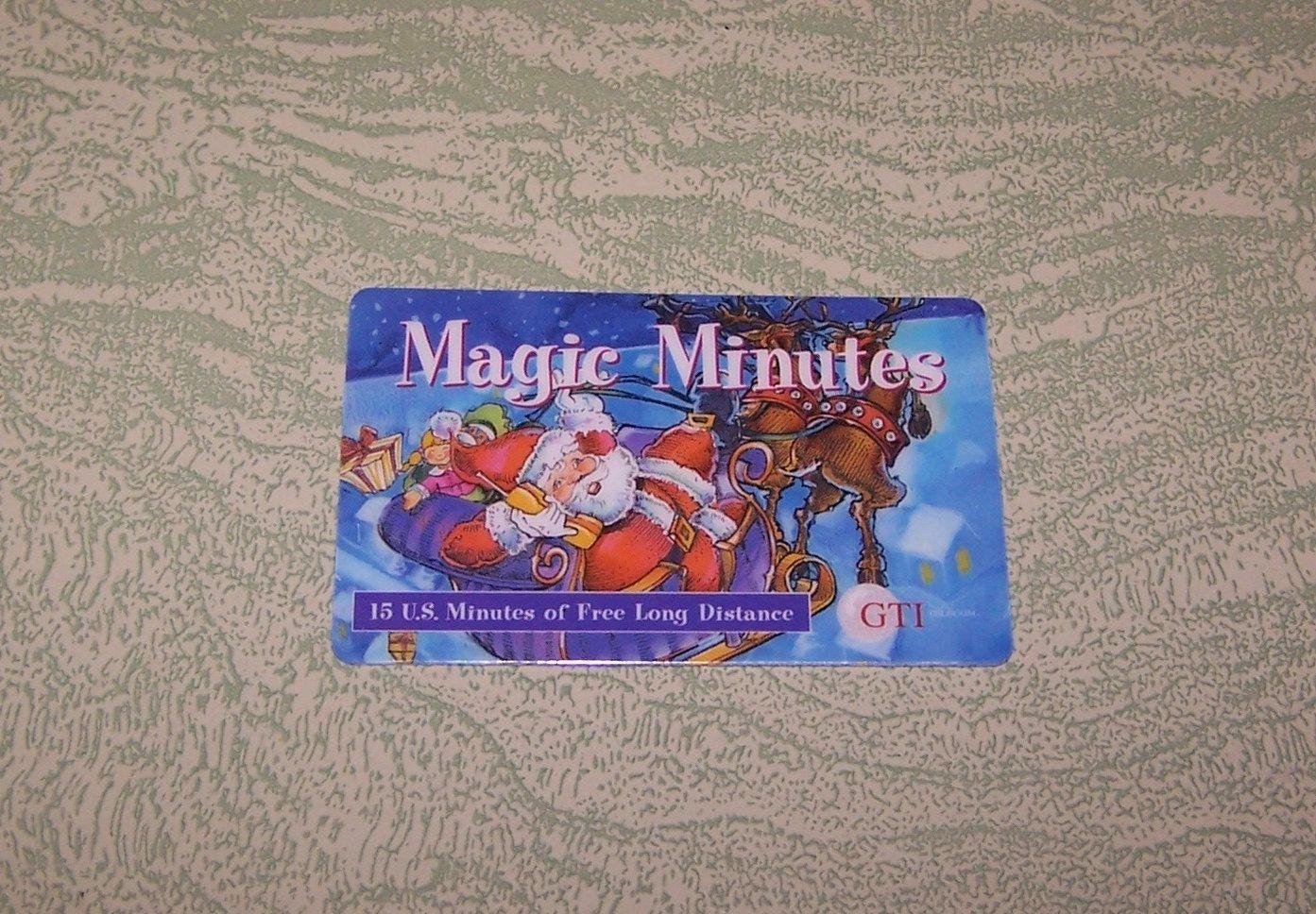 Phoney Cartoon Character TK 83b Telefonkarte//Phonecard Traveltel Christmas 1994