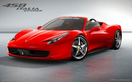 Se llama Ferrari 458 Italia Spyder y voy a ver si lo exporto a mi Planeta.