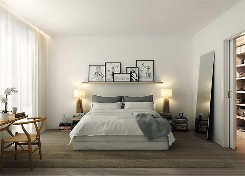 Ideas For My Bedroom Minimalist Property Ruth  I Like The Sense Of Calm And Lightalthough I Like My .