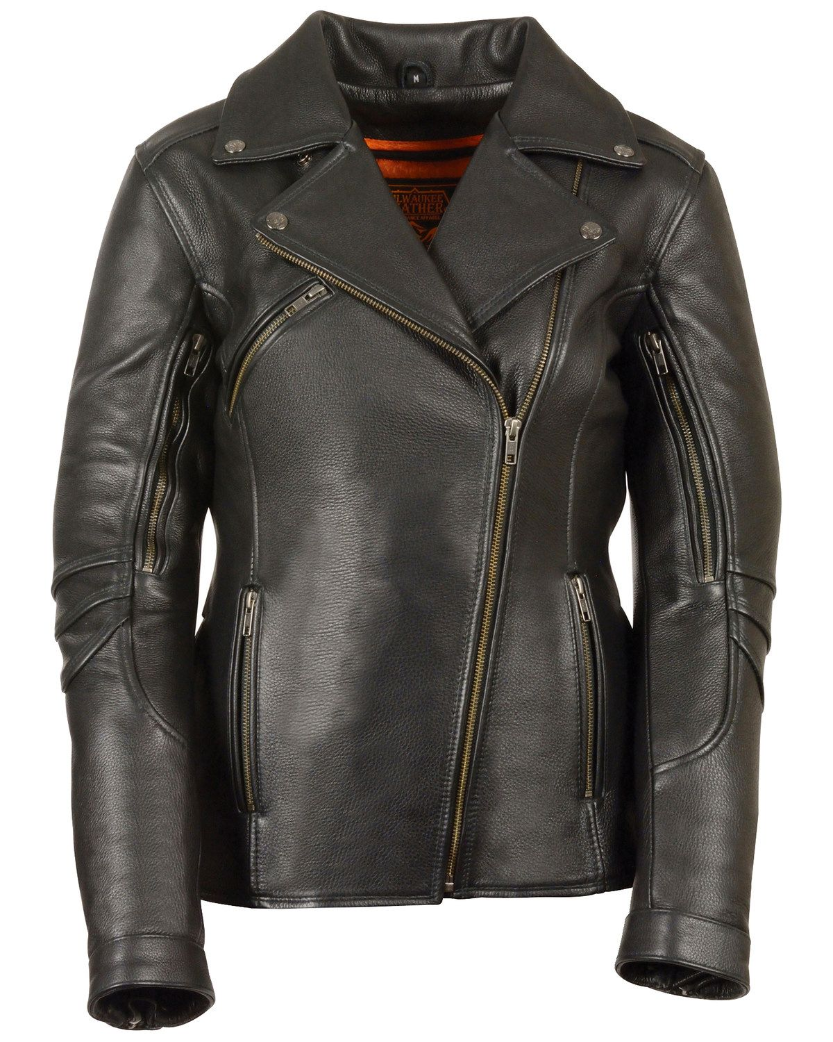 Milwaukee Leather Women's Long Length Vented Biker Leather