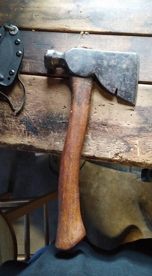 Odellstudios Throwing Axe Axe Handle Blacksmithing Knives