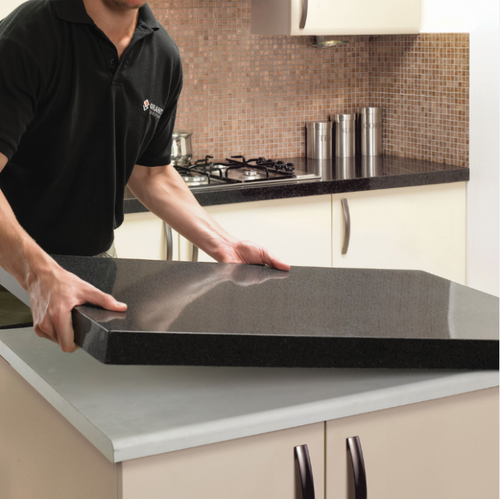 quartz overlay countertops 10 foot how the countertop overlay installation process works home decor
