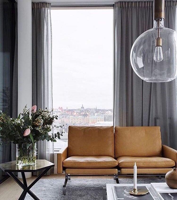 Pin By Corina On Apartment Inspo Modern Interior Decor Curtains