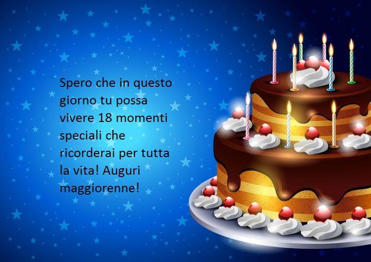 Proposta Per Dediche Di Buon Compleanno Ad Un Diciottenne Augurando Di Vivere Momenti Speciali Buon Compleanno Compleanno Idee