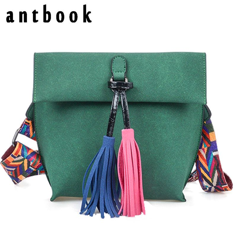 Price tracker and history of Antbook Vintage Lady s Bag Pu Leather Tassel  Women Messenger Bag Solid Shoulder Bag Designer High Quality Summer Women  Handbags b0a4def8f25c7