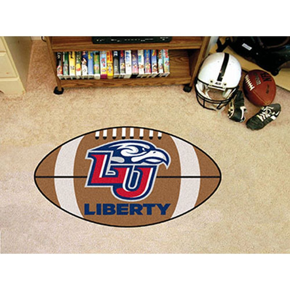 Liberty Flames NCAA Football Floor Mat 22x35