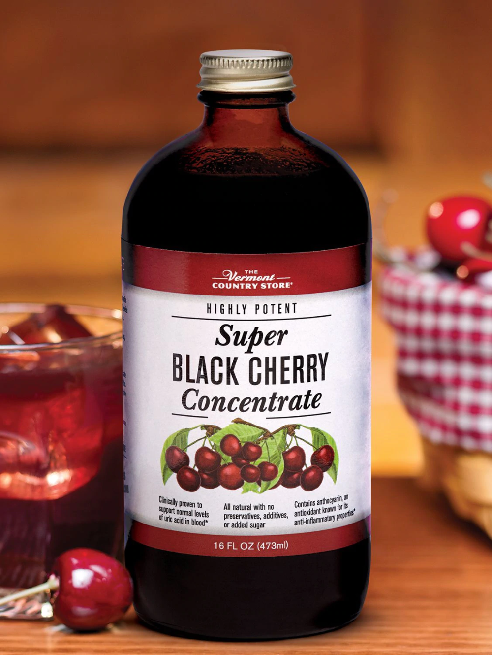 Black Cherry Juice Concentrate Relief For Arthritis And Gout In 2020 Black Cherry Juice Cherry Juice For Gout Cherry Juice