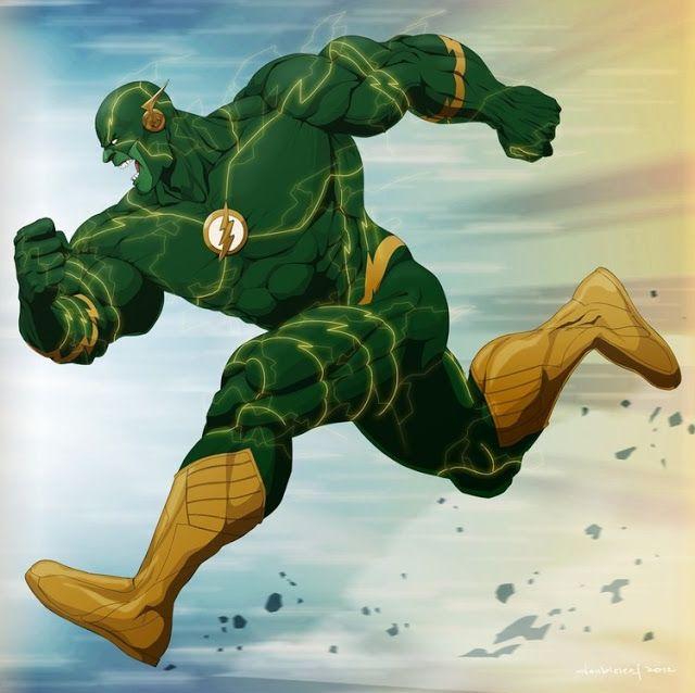 Galaxy Fantasy: Increíbles representaciones de superhéroes Marvel combinados con DC