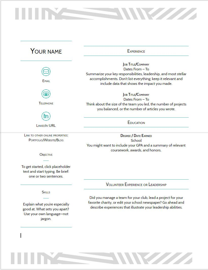 google doc resume templates more 10 google docs resume