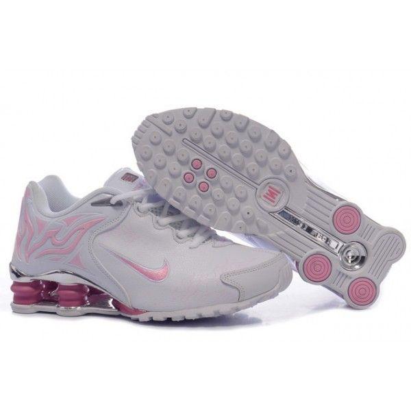 Nike Shox R4 White