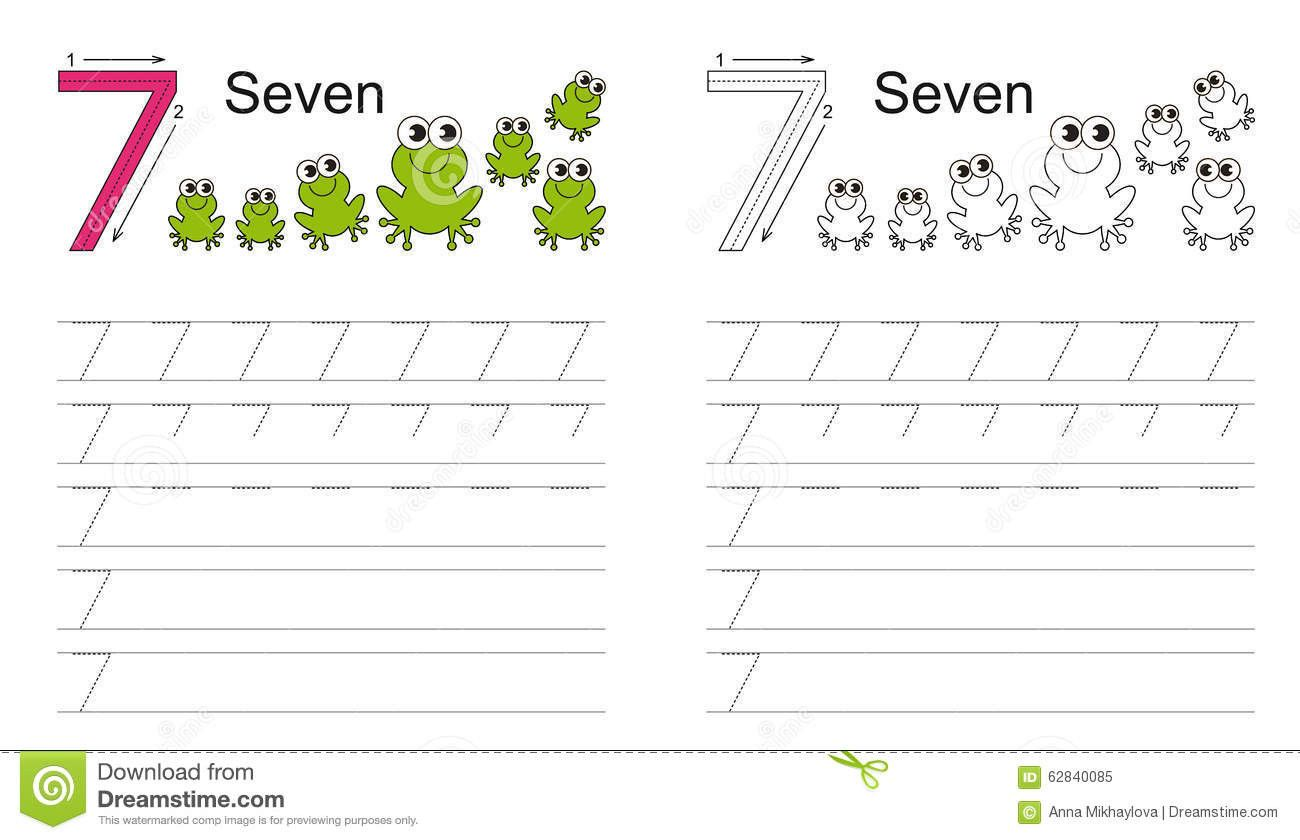 5 Worksheet Learning Numbers Worksheets Trace In