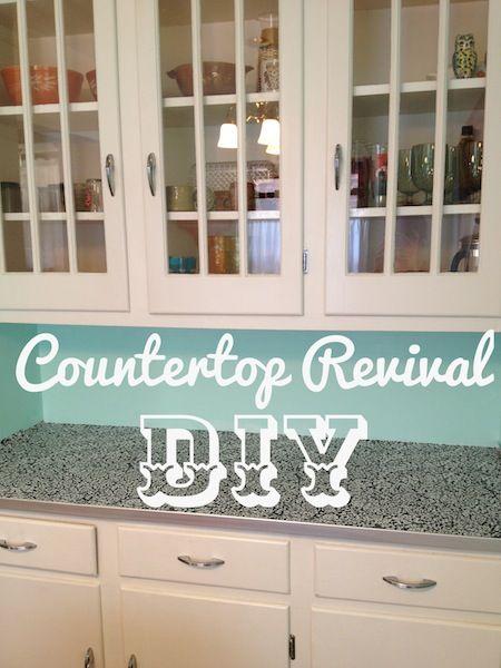 Diy Countertop Revival Diy Countertops Diy Kitchen Countertops