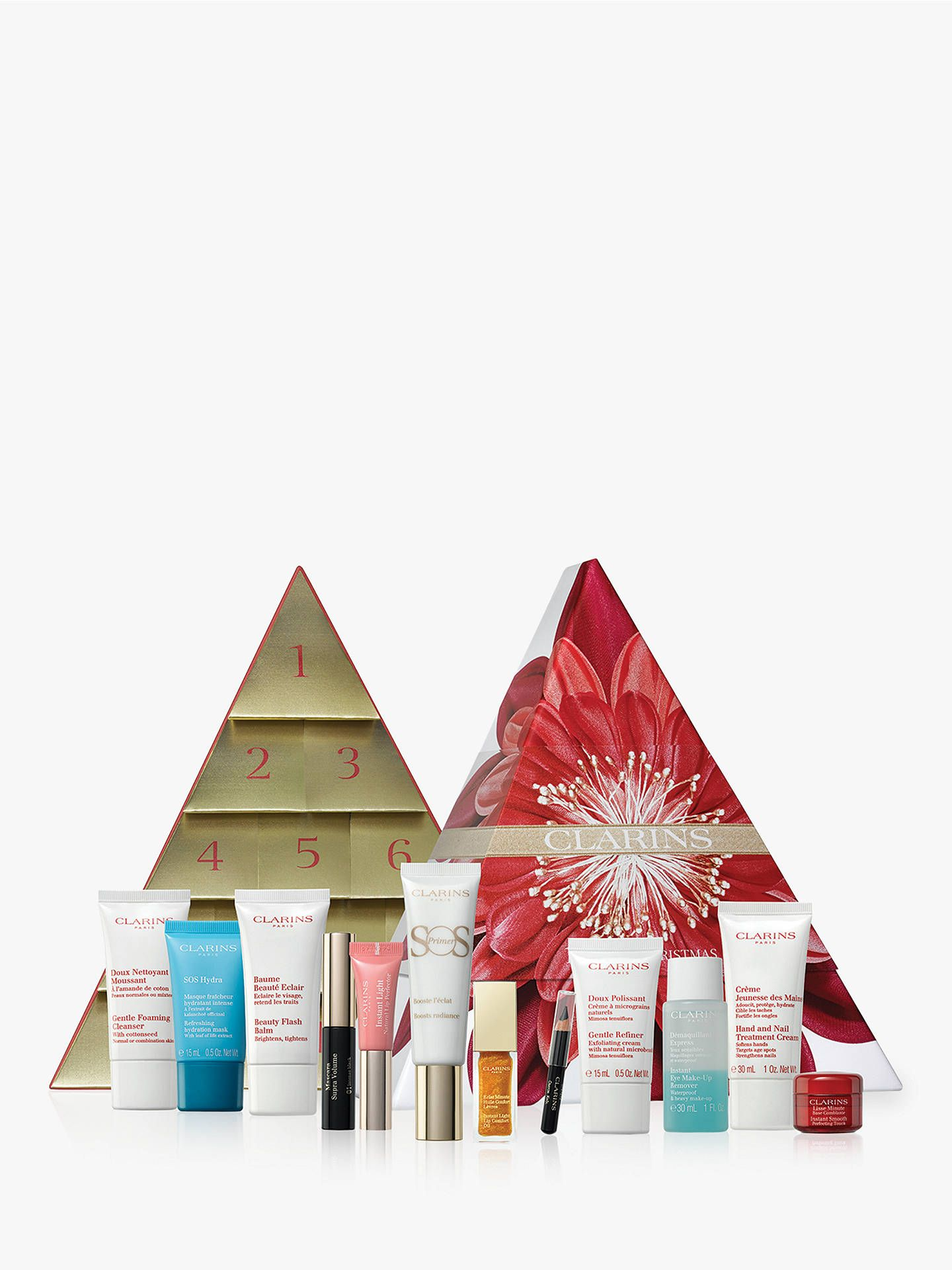 Clarins 12 Days Of Christmas Advent Calendar For Her With Images Beauty Advent Calendar Advent Calendar House Christmas Advent Calendar