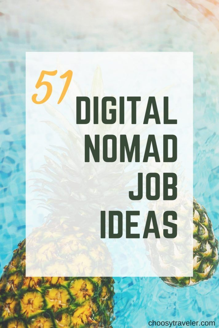 51 job ideas from Digital Nomad to start your travel life in 2019   Escape the office with on... 51 job ideas from Digital Nomad to start your travel life in 2019   Escape the office with one of these 51 jobs perfect for digital nomads!,