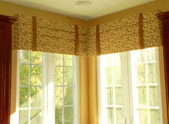Valances For Windows With Blinds Fabrics
