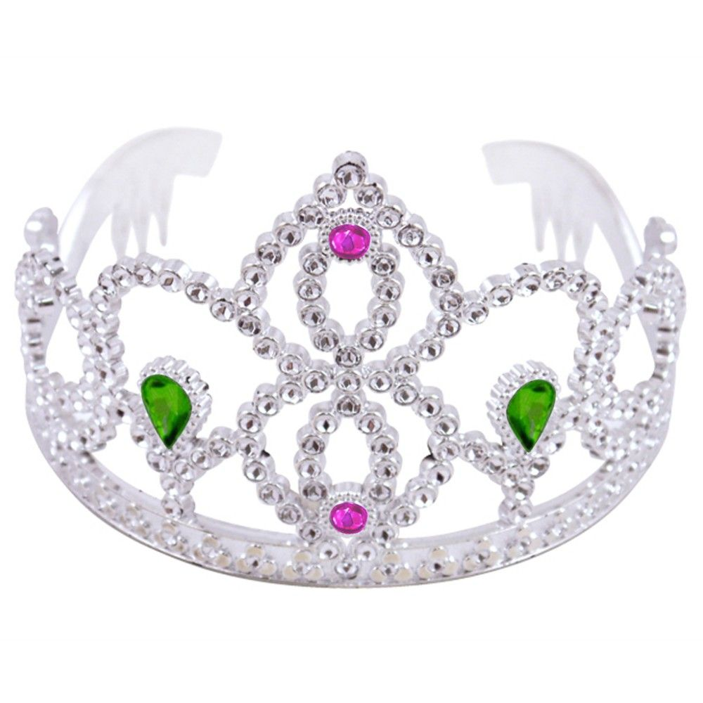 a78d759be Silver Tiara Dressing Up Accessory | Party Accessories and Costumes ...